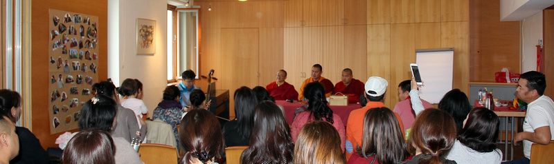 Buddhistischer Vortrag