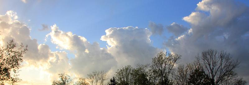 Zauber der Wolken